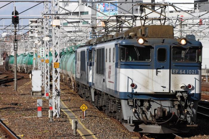 EF64 1021(愛)先頭の5785レ(名古屋)