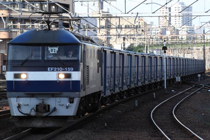 EF210-159(吹)牽引の3460レ(熱田)