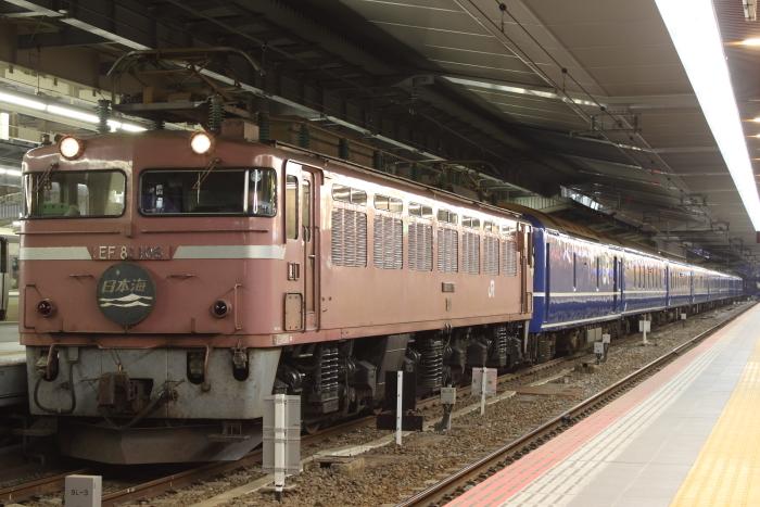 EF81 106牽引の日本海(大阪)