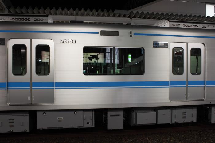 N3000系の車号表記・方向幕