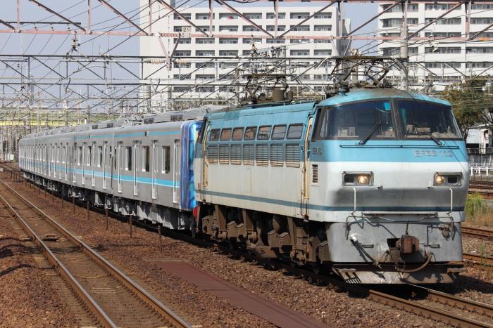EF66 113(吹)+名古屋市交N3000系(熱田)