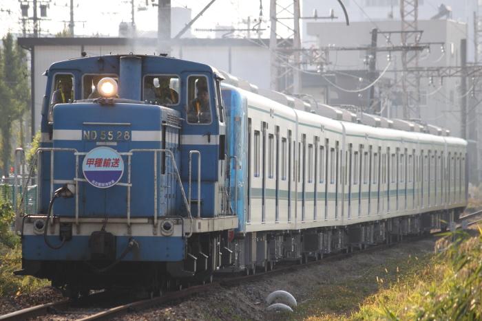 ND55 28+名古屋市交N3000系(東名古屋港ー大江)