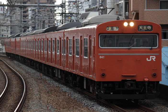 普通の103系(福島)
