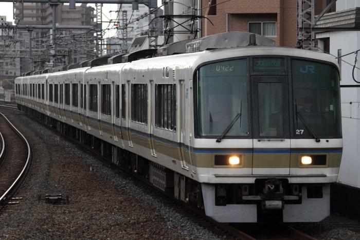 4+4の221系(福島)