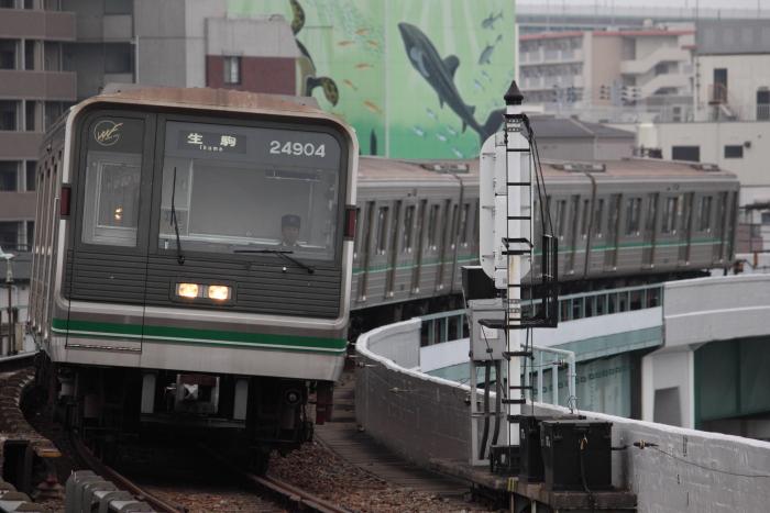 24604Fの生駒行き(朝潮橋)