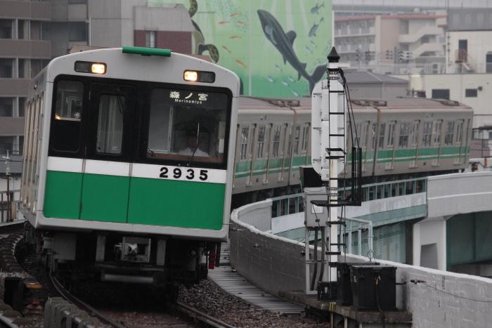2635Fの臨時森ノ宮行き(朝潮橋)