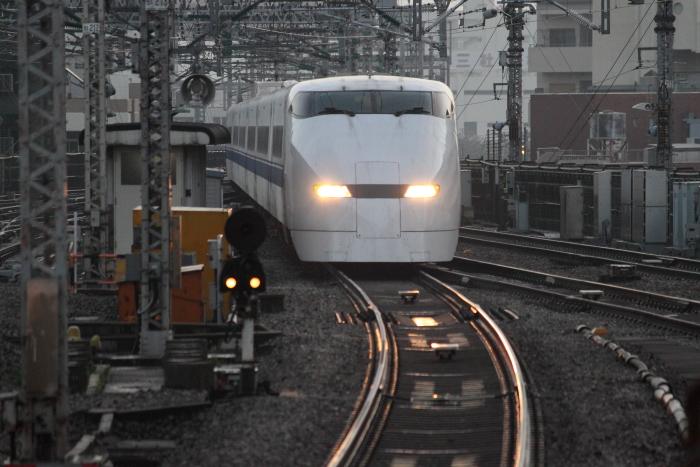 廃車回送されるF1編成(新大阪 10/31)