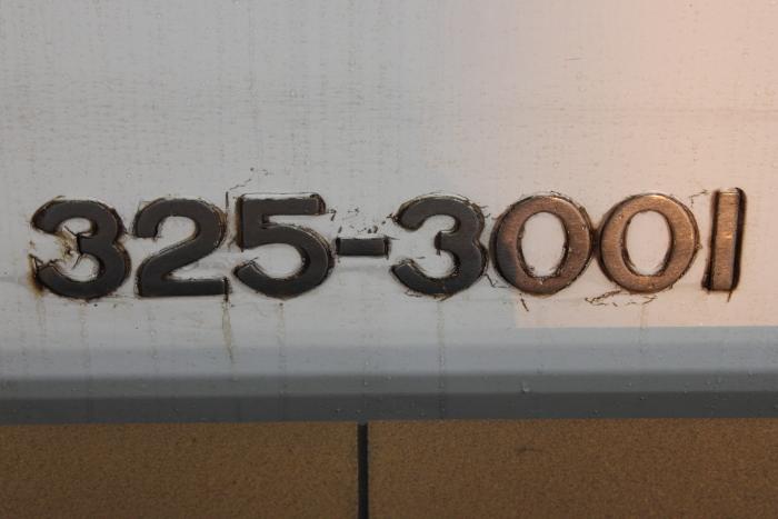 325-3001(2号車)