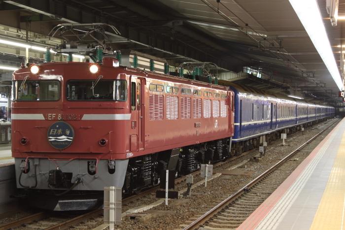 全検明け108号機の日本海(大阪)