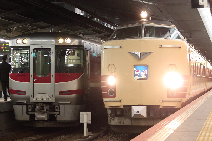 キハ181系亡き後の大阪駅17時台