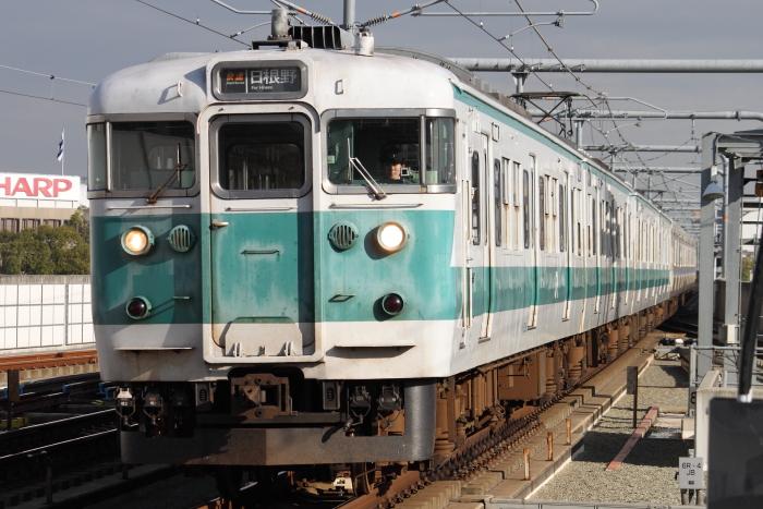 ヒネG403編成+40N車の快速日根野行き
