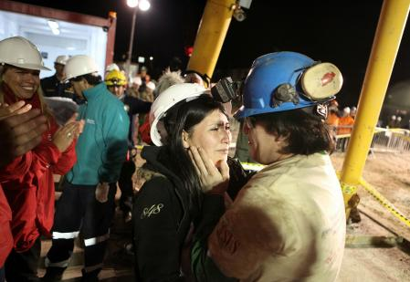 Rescued from a Chilean mine_1