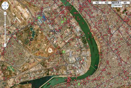 Wikileaks Iraq war logs_every death mapped