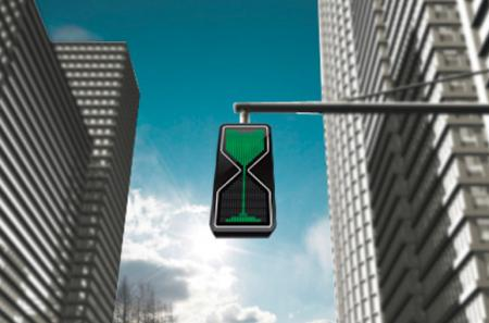 Sand Glass LED Traffic Lights_1