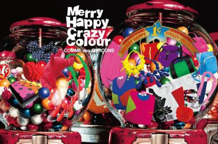 Merry Happy Crazy Colour