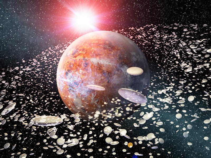 UFO型生命体群と母なる惑星
