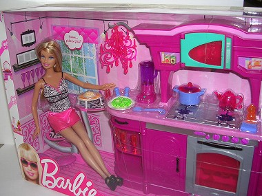 3Barbie バービーinキッチン 084