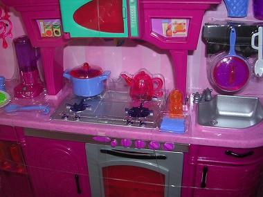 6Barbie バービーinキッチン 091