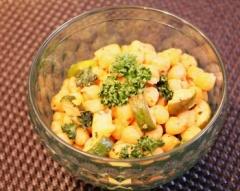 ズッキーニとひよこ豆のスパイス炒め (350x279)