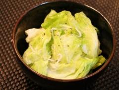 しっとりレタスとしらすのサラダ (350x265)