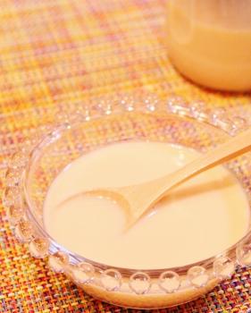 牛乳大量消費 お鍋でコンデンスミルク (281x350)