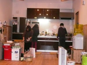 21M宅KP夕食準備