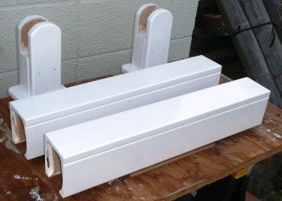 竿掛け柱補助材塗装後
