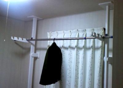 竿掛け柱設置1