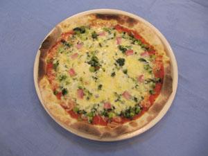 おすすめ 野沢菜のピザ