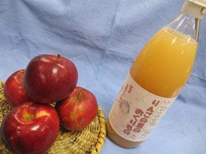 紅玉りんごのジュース