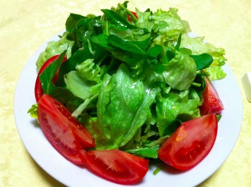 2トマト&グリーンサラダ