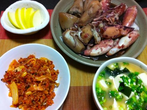 1ヤリイカと里芋の煮物セット