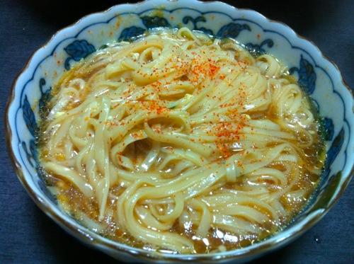 6取り分け台湾麺