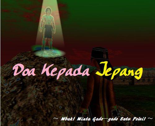 doa kepada jepang