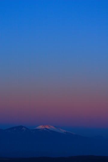 2009.12.29 地球影と浅間山