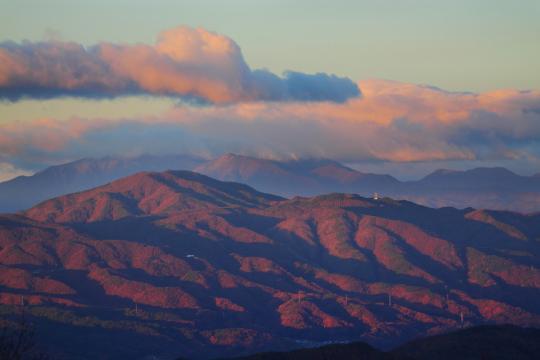 2011.11.21-朝の山並み-7