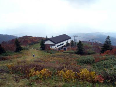 10月16日の森吉山
