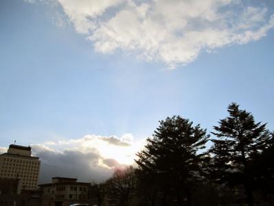12月4日(日)の天気