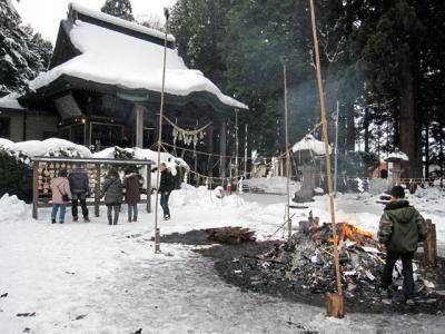 1月3日(火)大館神明社