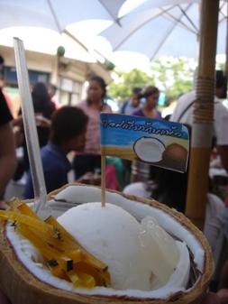 ココナツアイス