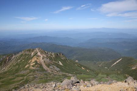継母岳、白山