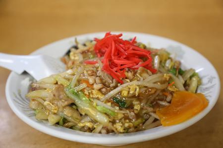 「味福」の中華ちらし