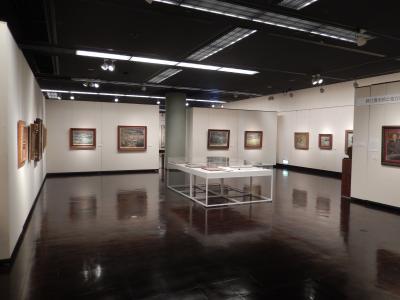旭川「北海道銀行コレクション」展示風景