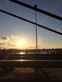 夕焼け大阪
