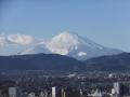 浅間山駐車場付近より富士山を望む