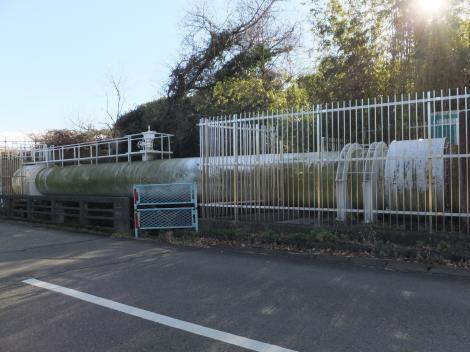 神奈川県内広域水道企業団・伊勢原浄水場日向川水管橋