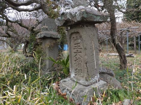 道端の石像・愛川町棚沢