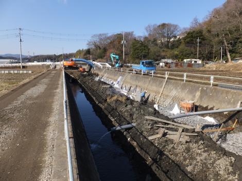 八瀬川・桧橋付近