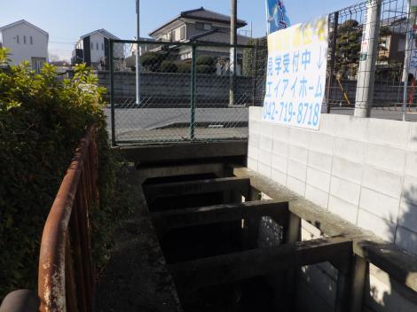 八瀬川・県道48号線団地入口信号