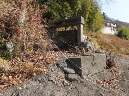 小倉橋取水口跡